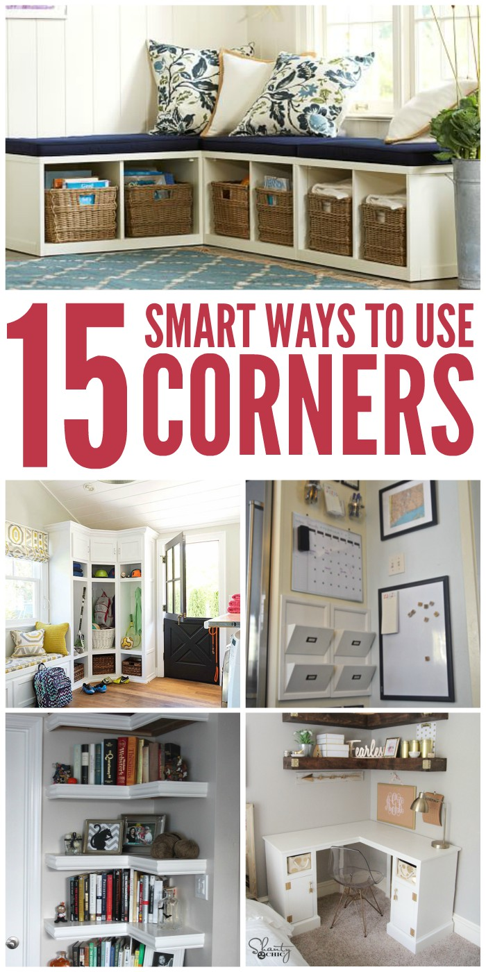 15 Ways To Better Use Corner Space