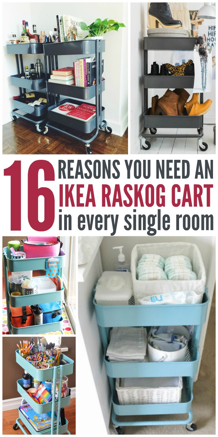 16 Reasons You Totally Need an IKEA Raskog Cart (In Every