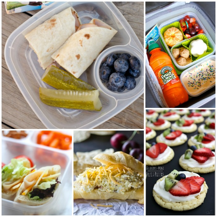 Easy Peasy School Lunch Ideas