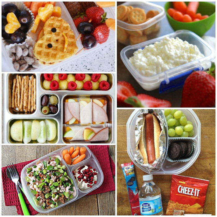 100 School Lunches Ideas The Kids Will Actually Eat