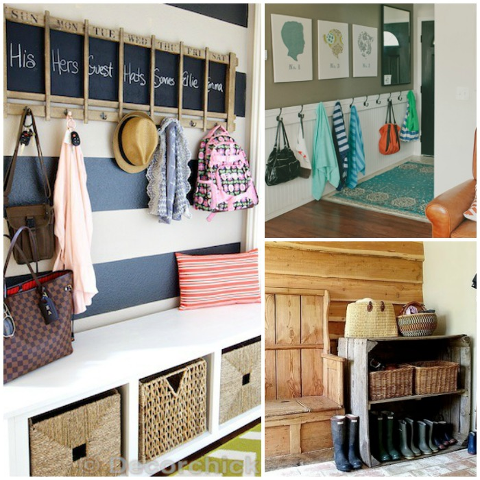 15 ideas for a functional and stylish entryway for Entryway mudroom ideas