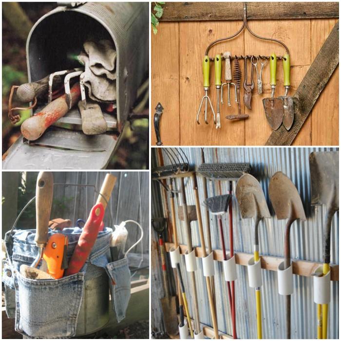 Garden Tool Organization Tips