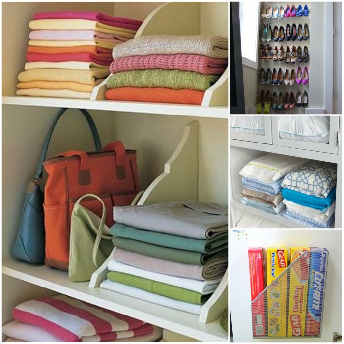 Organization Tips for the Bathroom, Kitchen and Closets