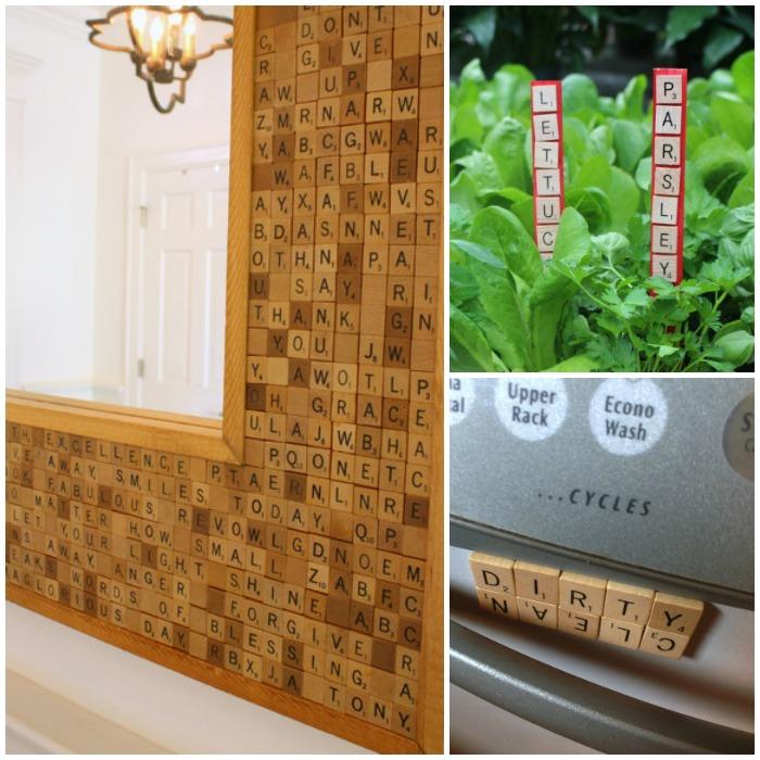 Scrabble Tile Projects