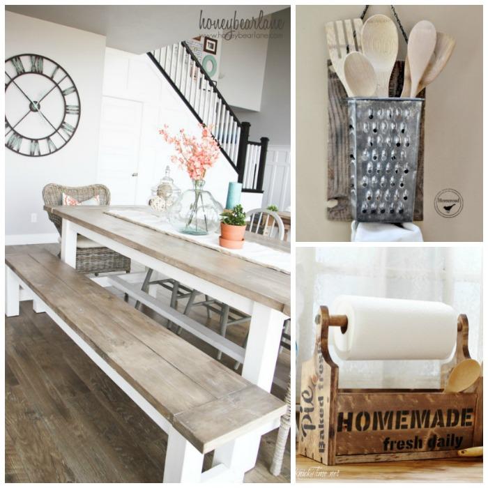 farmhouse kitchen project ideas