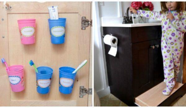 15 Brilliant Ideas to Streamline Your Bathroom