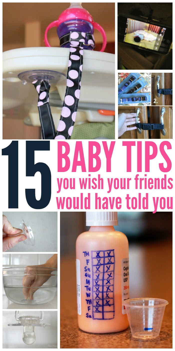 These baby tips are perfect for new moms! There is so much to do and remember as a mom you'll be glad that you have all these tips! #onecrazyhouse #babytips #newborn #parentingadvice