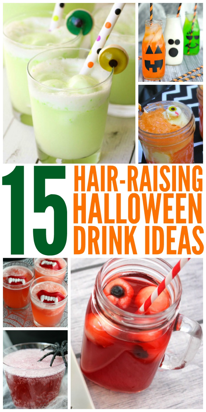 15 Hair-Raising Halloween Drink Ideas