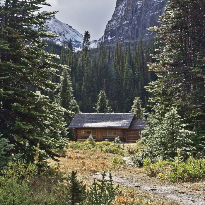 rent a cabin and camp