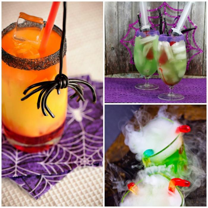 Spooky Halloween Party Drinks