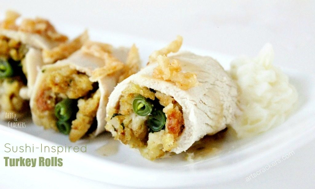 Sushi Inspired Turkey Rolls