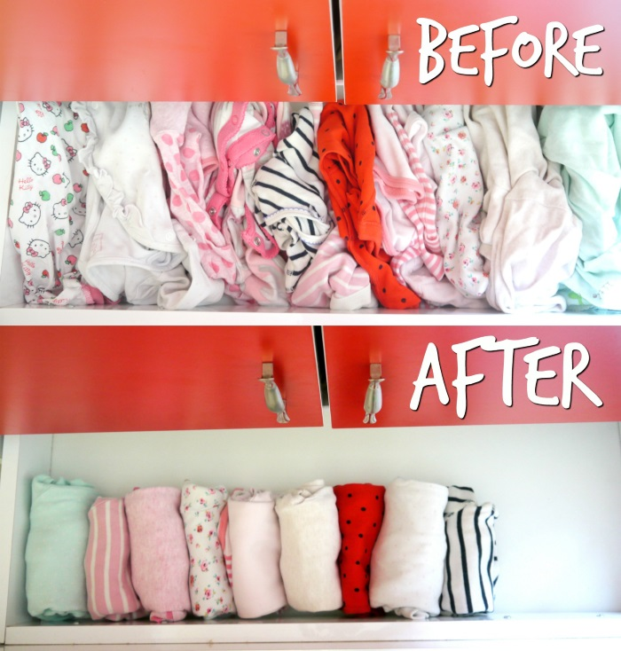 before and after kids drawers