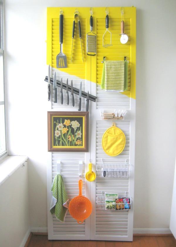 door kitchen organizer