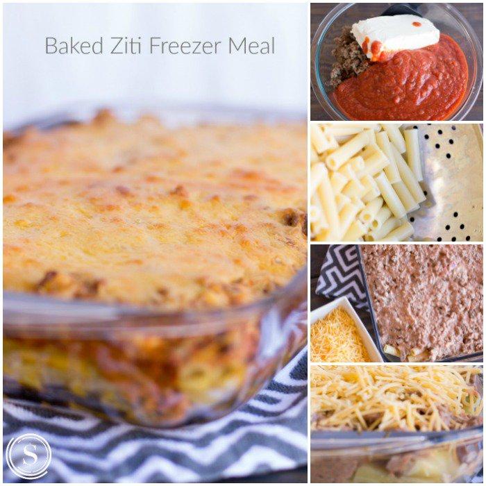 freezer dinner baked ziti