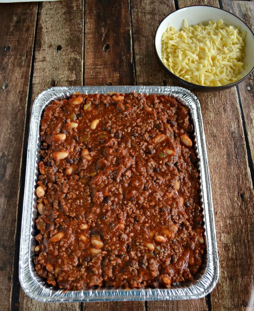 freezer dinner chili and rice