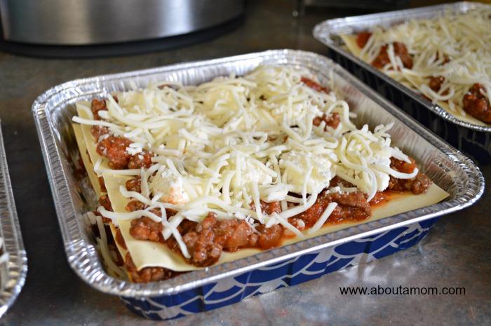 freezer dinner lasagna