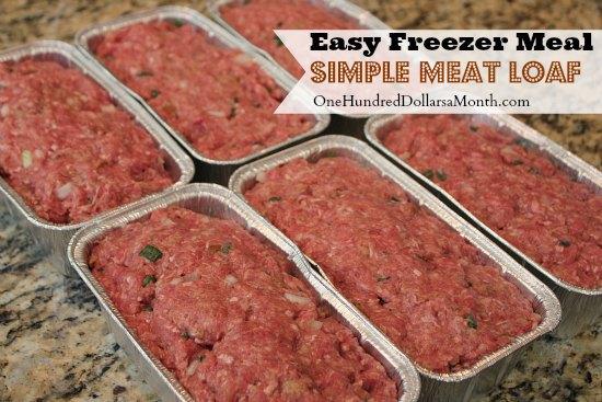 freezer dinner meat loaf