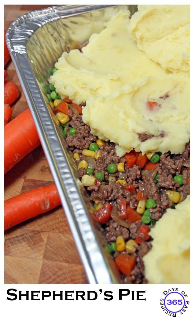 freezer dinner shepherds pie