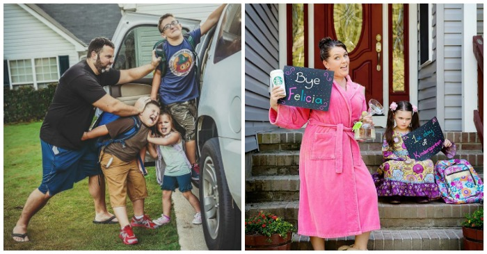 13 Funny Back To School Photo Ideas To Take This School Year