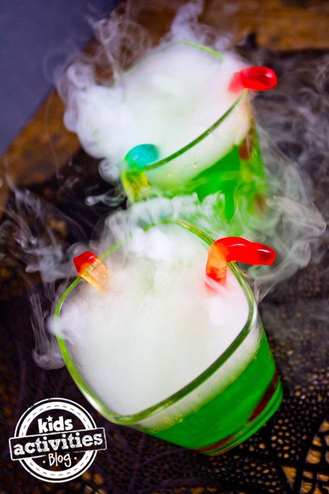 halloween fog drinks