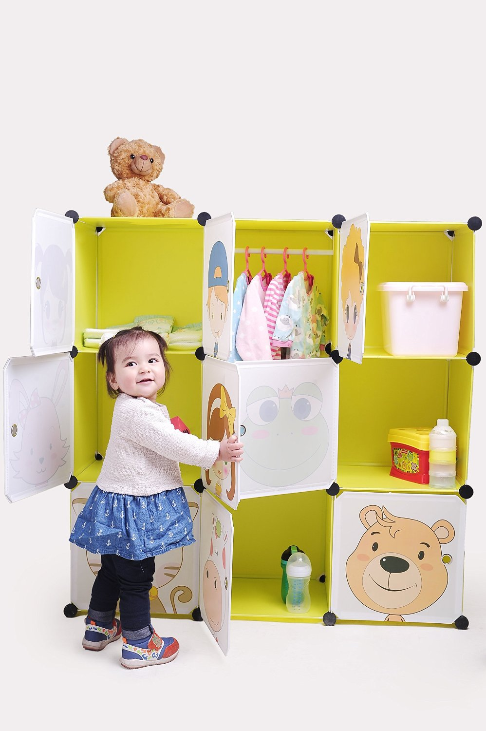20 Life Changing Baby Clothes Organizers | www.onecrazyhouse.com