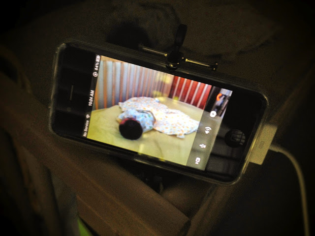 old phone as baby monitor