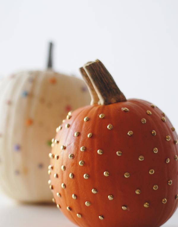 pushpin pumpkins