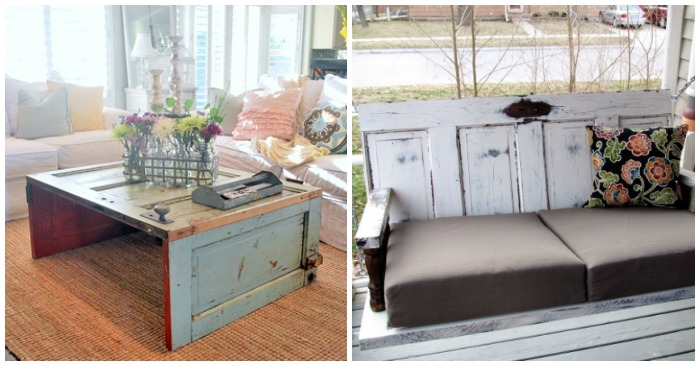 recycle old doors feature