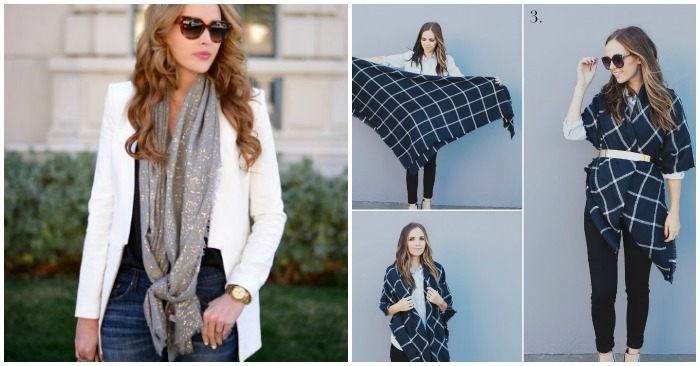 How to Wear a Scarf: 15 Chic Ways