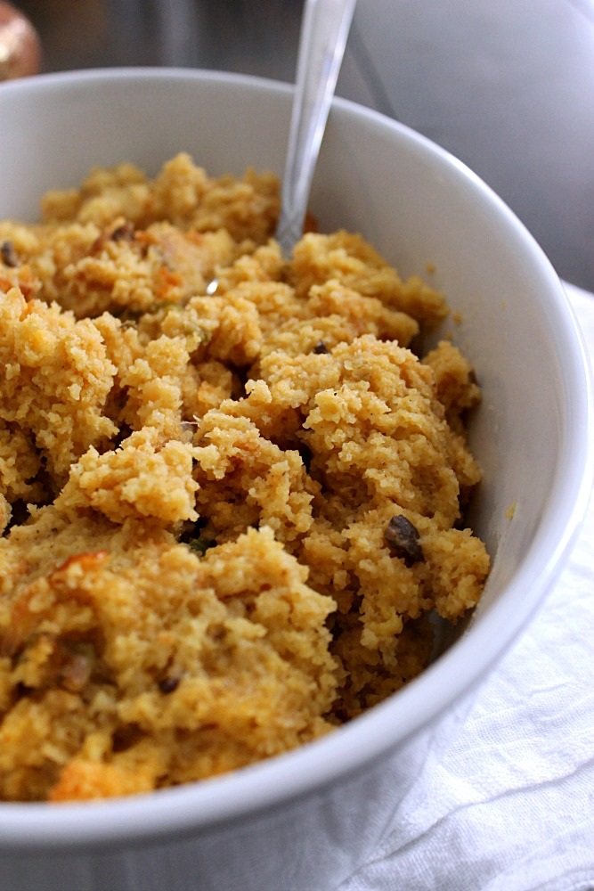 ... Slow Cooker Cornbread Stuffing recipe. Just toss the ingredients into