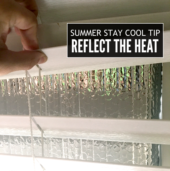 how to save energy in the summer
