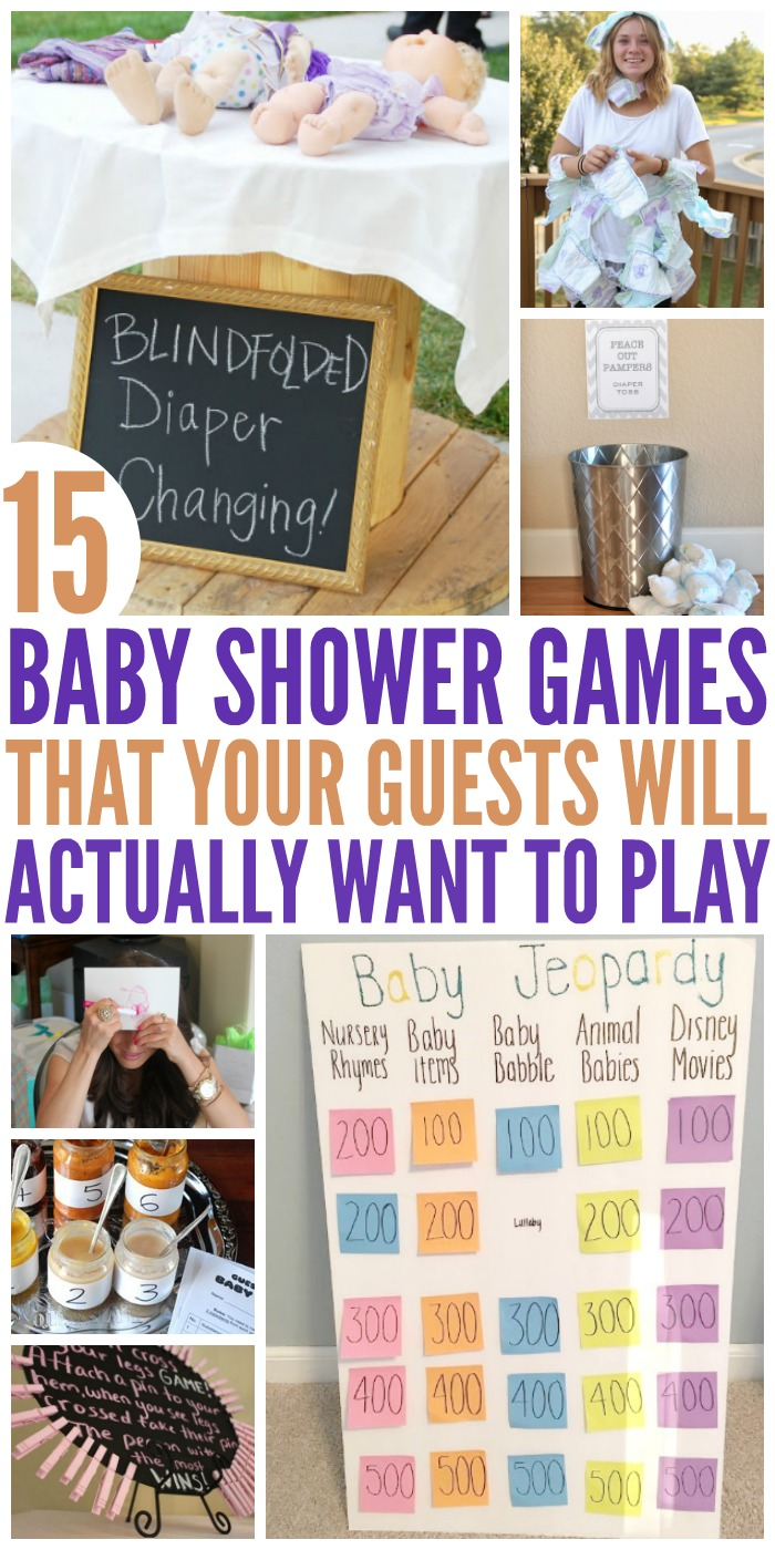15 hilariously fun baby shower games the most viral collection of