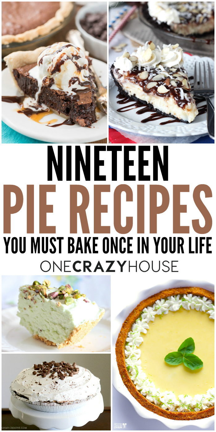 If you prefer pie over cake, you'll love this list of unique pie recipes.