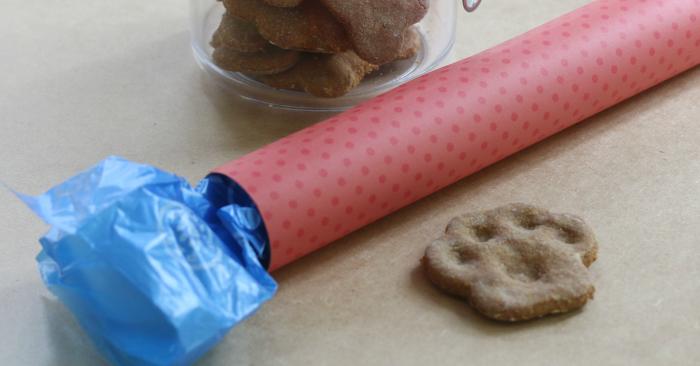 The Poo Picker Upper: Simple Dog Bag Holder