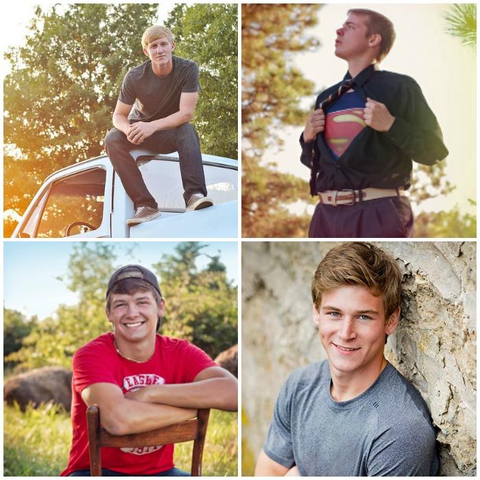 Senior Picture Ideas for Boys