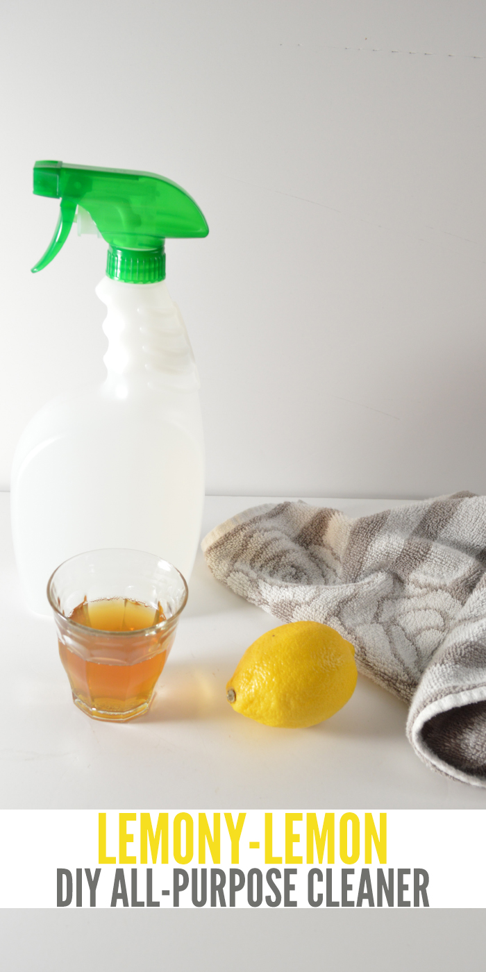 This natural DIY All-Purpose cleaner is super simple and effective.