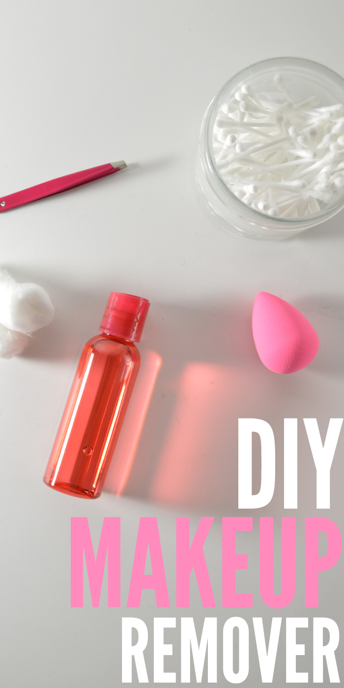The easiest and most effective DIY makeup remover you'll ever make.