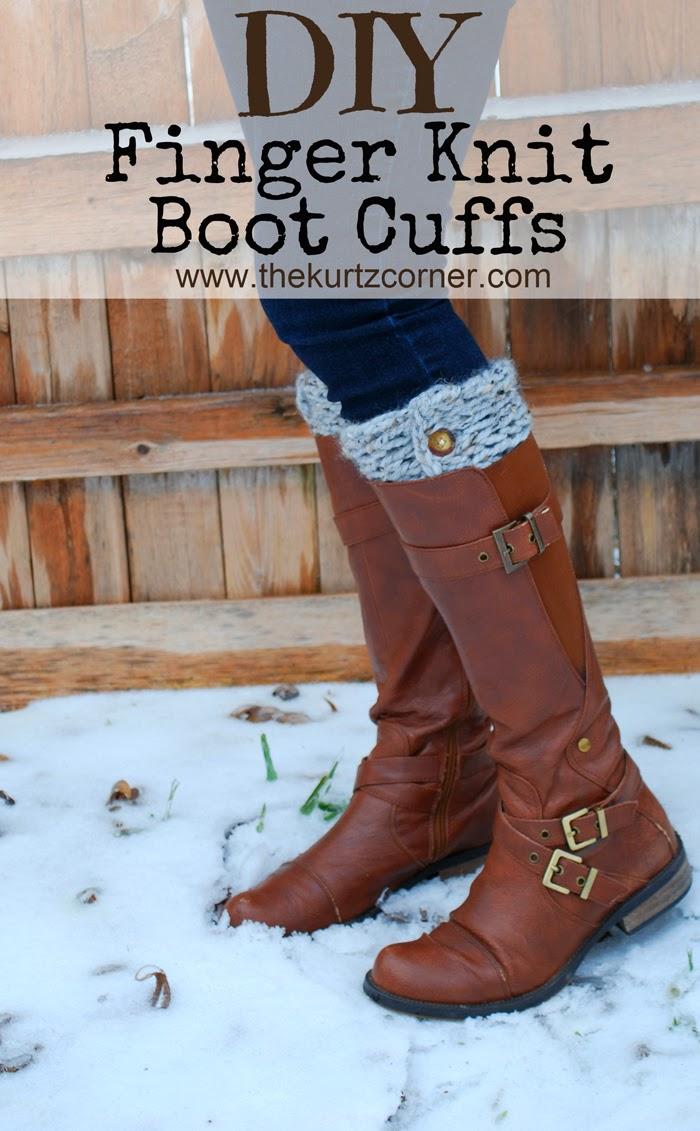 finger-knit-boot-cuffs