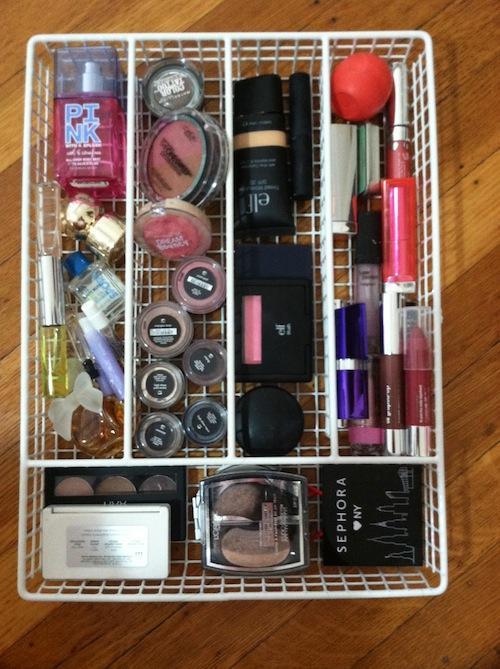eye makeup organizer using - photo #23