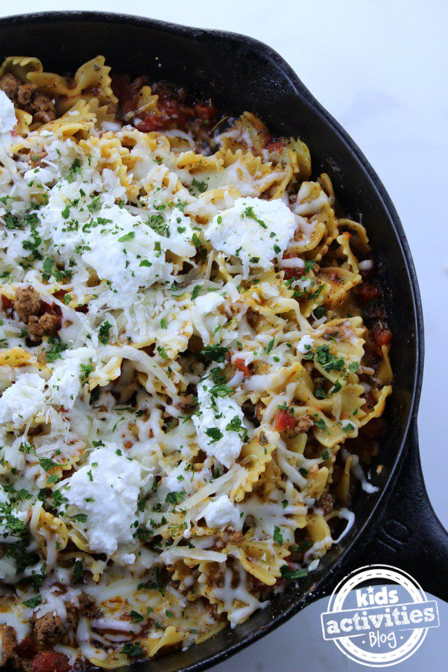 one-pan-lasagna