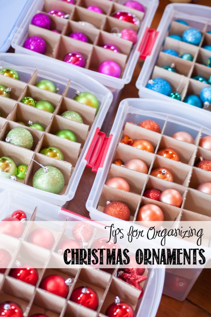 15 Clever Christmas Ornament Storage Ideas