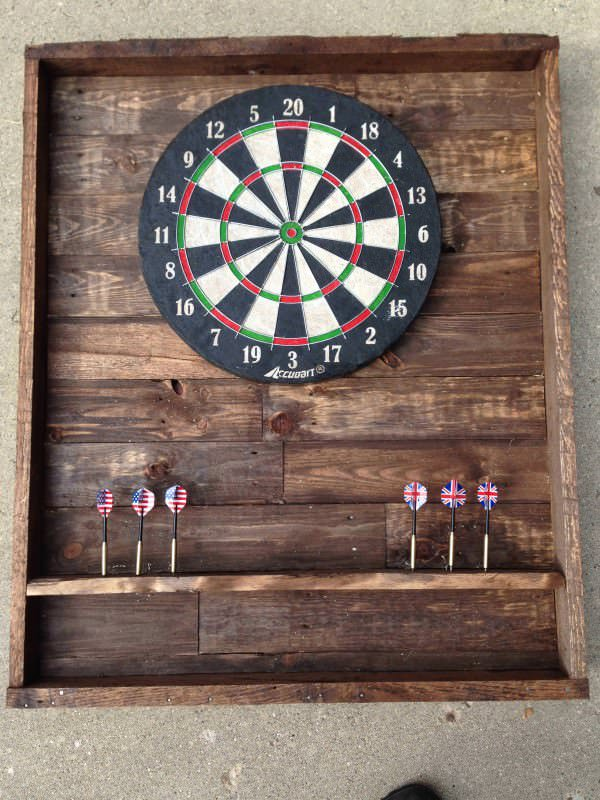 pallet-dart-board