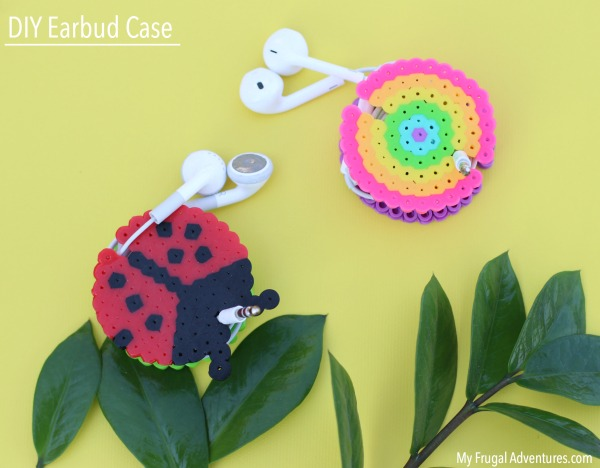 Case Design phone case that holds credit cards : Give the kids their own unique headphone cases. These are made with ...