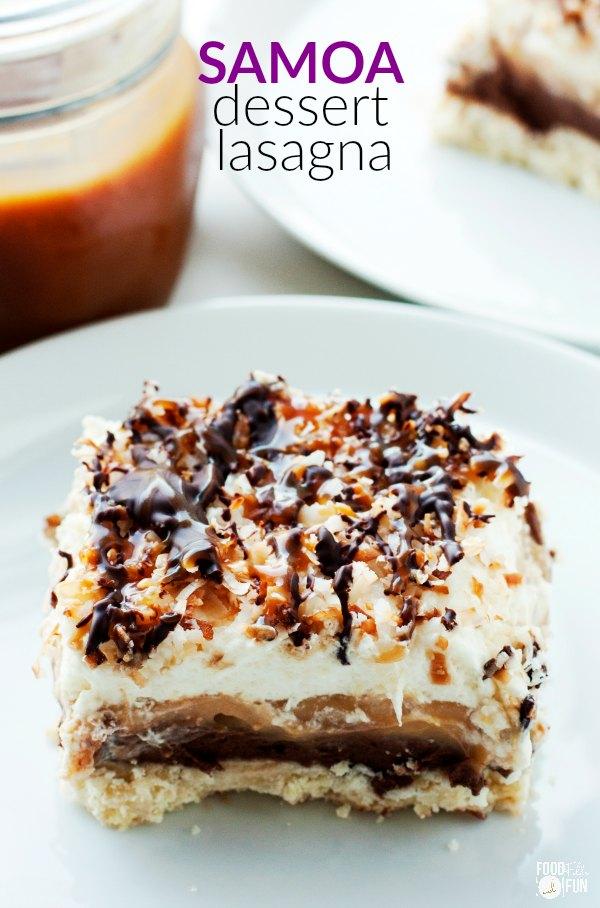 samoa-dessert-lasagna