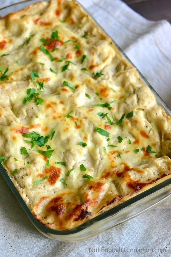 skinny-chicken-alfredo-lasagna