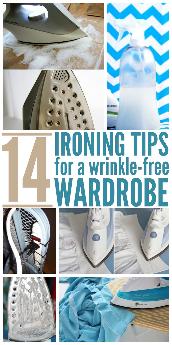 14 Ironing Tips for a Wrinkle Free Wardrobe