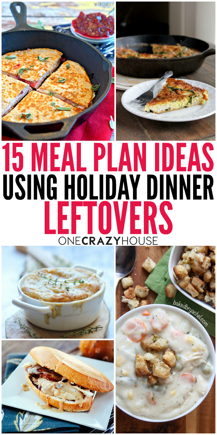 holiday leftover ideas