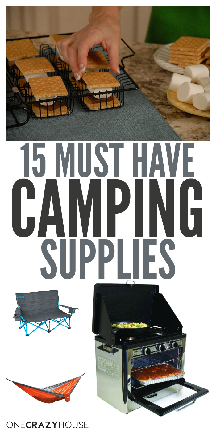 15 Camping {Must Have} Supplies to Make Your Outdoor Trip ...