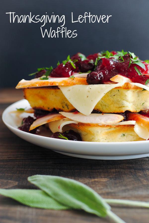 Thanksgiving Leftover Waffles