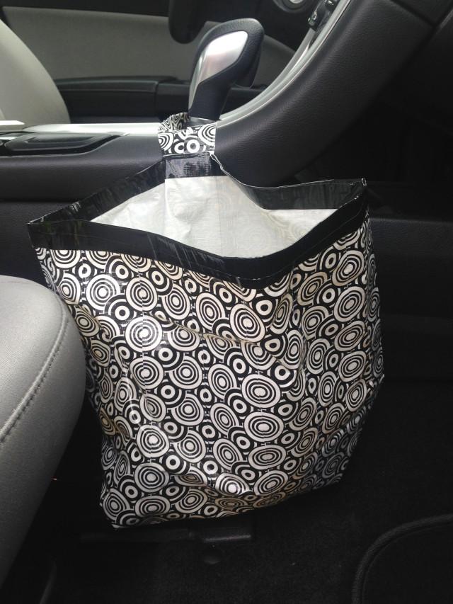 car-trash-bag